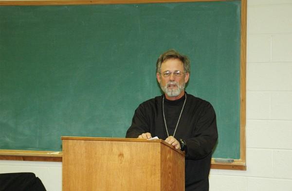 The Very Reverend John Henderson Addresses The Seminary