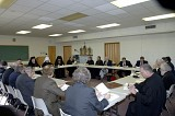 Twenty-two members were present for the meeting of the full Board of Trustees.