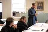 Seminarians in class